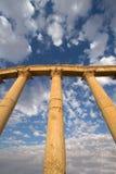 De zandsteenkolommen van Palmyra Royalty-vrije Stock Foto