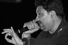 De Zanger van Bollywood Stock Foto's