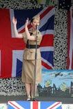 De zanger van de de zusters 1940 hulde van Andrew Royalty-vrije Stock Foto's