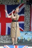 De zanger van de de zusters 1940 hulde van Andrew Stock Foto