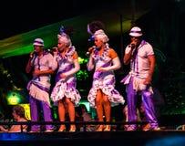 De zangers bij tropicana tonen Royalty-vrije Stock Foto's