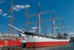 De Zeehaven van de Straat van het Zuiden van de schoener royalty-vrije stock foto