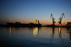 De zeehaven van Sotchi Stock Afbeeldingen