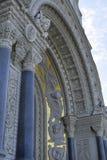De Zeekathedraal van Sinterklaas in Kronstadt is een Russische Orthodoxe kathedraal in St. Petersburg royalty-vrije stock afbeeldingen