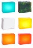 De zeep van de hand vastgestelde #1 | Geïsoleerda Stock Foto's