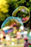 De zeepbel Stock Foto's