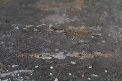 De zeer oude vuile oppervlakte van het bladmetaal Stock Afbeeldingen