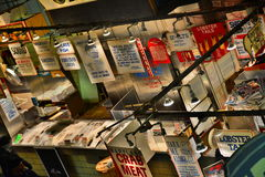 De Zeevruchten van de Marktfaidley van Lexington Stock Afbeeldingen