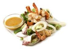 De zeevruchten van de salade Royalty-vrije Stock Fotografie