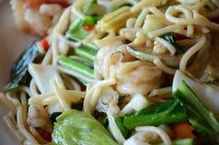 De Zeevruchten van de spaghetti Stock Fotografie