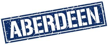 De zegel van Aberdeen stock illustratie