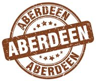 De zegel van Aberdeen Royalty-vrije Stock Fotografie
