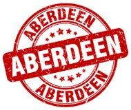 De zegel van Aberdeen Stock Foto's