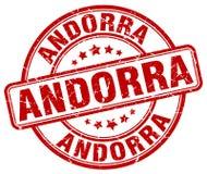 De zegel van Andorra royalty-vrije illustratie