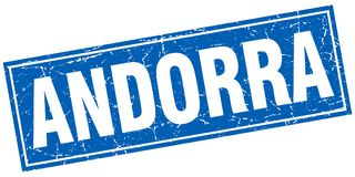 De zegel van Andorra vector illustratie