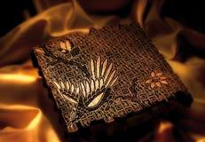 De zegel van de batik Royalty-vrije Stock Foto's