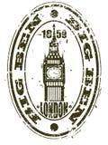 De zegel van de Big Ben Royalty-vrije Stock Foto's