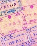 De zegel van de douane Royalty-vrije Stock Afbeelding