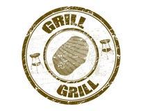 De zegel van de grill Royalty-vrije Stock Afbeelding