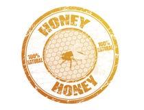 De zegel van de honing Stock Afbeeldingen
