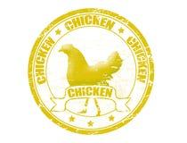 De zegel van de kip Stock Afbeeldingen