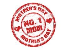 De zegel van de moederdag Royalty-vrije Stock Afbeeldingen