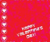 De zegel van de valentijnskaartendag Royalty-vrije Stock Afbeeldingen