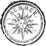 De zegel van de zomer Stock Foto's