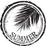 De zegel van de zomer Stock Afbeelding
