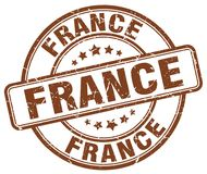 De zegel van Frankrijk stock illustratie