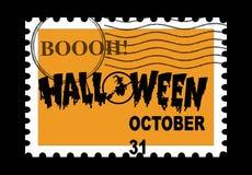 De Zegel van Halloween Royalty-vrije Stock Fotografie