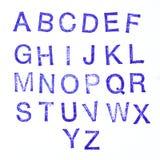 De zegel van het alfabet royalty-vrije stock fotografie