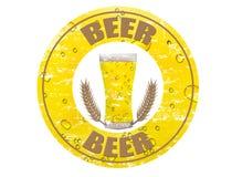 De zegel van het bier Royalty-vrije Stock Fotografie