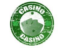 De zegel van het casino Stock Fotografie