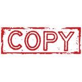 De zegel van het exemplaar Stock Afbeelding