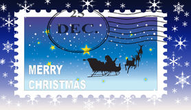 De zegel van Kerstmis Royalty-vrije Stock Afbeelding