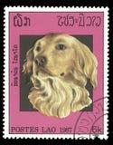 De zegel van Laos royalty-vrije stock afbeeldingen