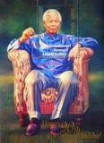 De zegel van Nelson Mandela