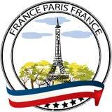 De zegel van Parijs Stock Foto