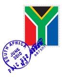 De zegel van Zuid-Afrika Stock Afbeeldingen