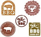 De Zegels van de barbecue Royalty-vrije Stock Foto