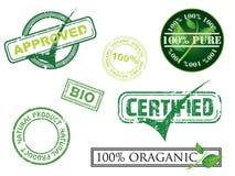 De zegels van de ecologie Royalty-vrije Stock Fotografie