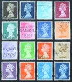 De zegels van de koningin Stock Afbeelding