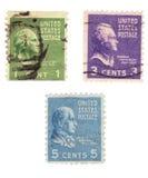De Zegels van de V.S. stock foto's