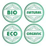 De zegels van Eco Royalty-vrije Stock Afbeeldingen
