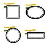De Zegels van India Royalty-vrije Stock Fotografie
