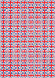 De Zegels van Union Jack Stock Afbeeldingen