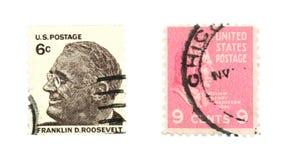 De zegels van Verenigde Staten Royalty-vrije Stock Afbeelding