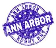 De Zegelverbinding van Grunge Geweven ANN ARBOR vector illustratie