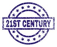 De Zegelverbinding van de Grunge Geweven 21ST EEUW stock illustratie